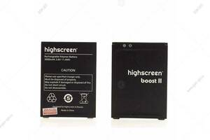 Аккумулятор для Highscreen Boost 2/ Boost 2 SE - 3000mAh оригинал
